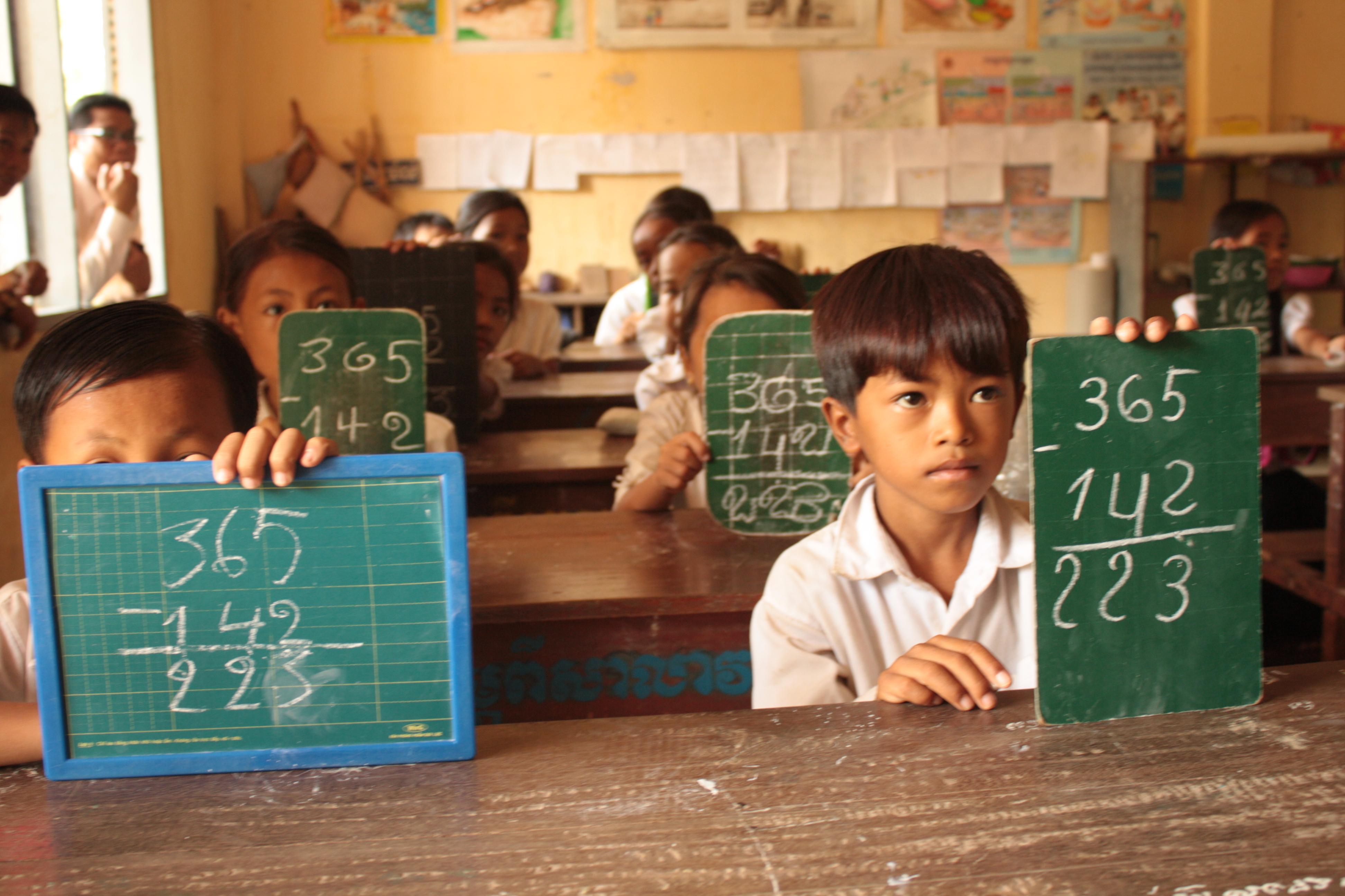 Частные и международные школы в Камбодже