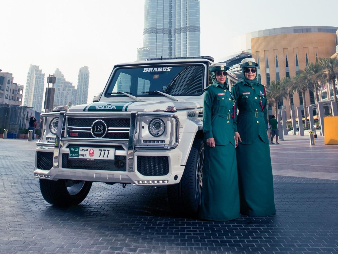 Полицейские Дубая