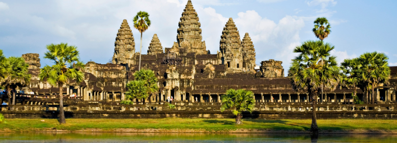 Храм Ангкор-Ват Камбоджа