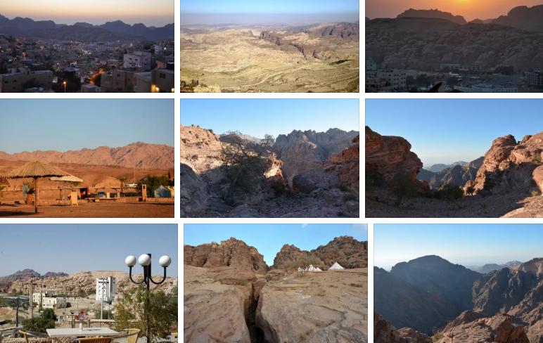 Небольшой иорданский город Вади-Муса, расположен рядом с Петрой