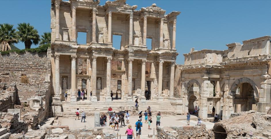 Эфес Турция Руины