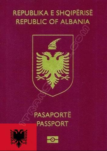 Албанский паспорт