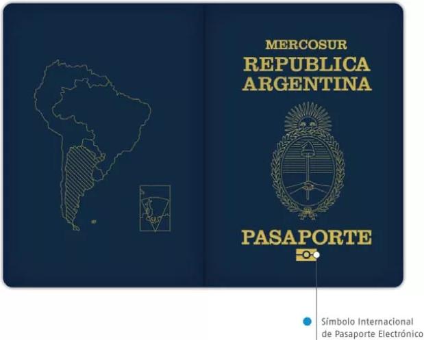 Паспорт Аргентины