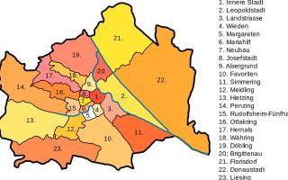 Районы для жизни в Австрии