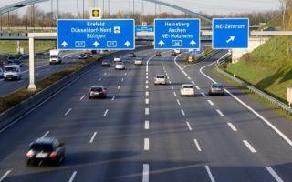 Информация о вождении в Германии